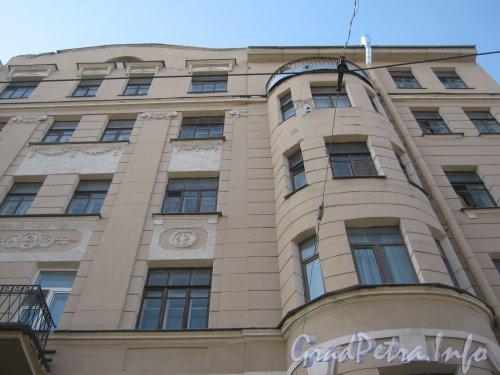 Пр. Римского-Корсакова, дом 115. Часть фасада. Фото апрель 2012 г.