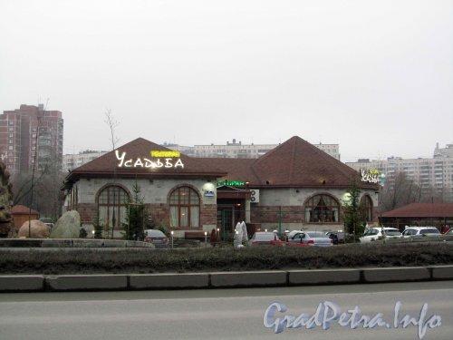 Северный пр., дом 47. Комплекс ресторана «Усадьба». Фото ноябрь 2012 г.