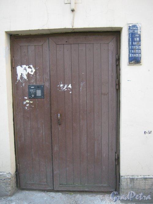 Каменноостровский пр., дом 26-28. Парадная в 6 дворе. Фото 7 июля 2012 г.