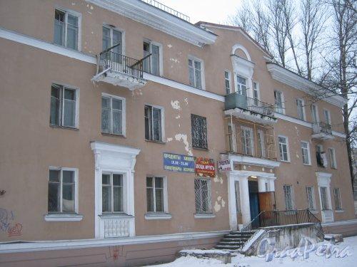 Пр. Народного ополчения, дом 209, корпус 2. Общий вид здания со стороны дома 207. Фото 6 января 2013 г.