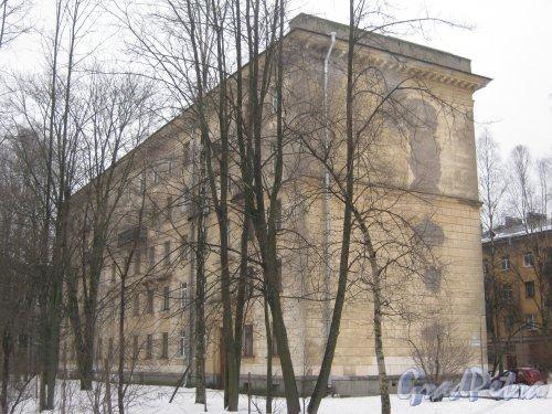 Тихорецкий пр., дом 7, корпус 5. Общий вид со стороны дома 5 корпус 2. Фото 8 февраля 2013 г.