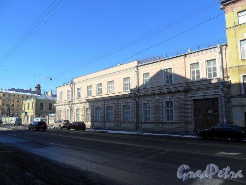 Рижский проспект, дом 21. Общий вид корпусов.. Фото 9 марта 2013 г.