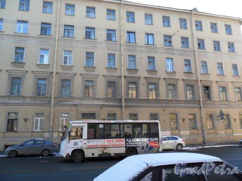 Рижский проспект, дом 52. Фото 9 марта 2013 г.