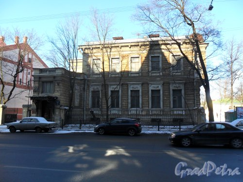 Рижский проспект, дом 27. Фото 9 марта 2013 г.