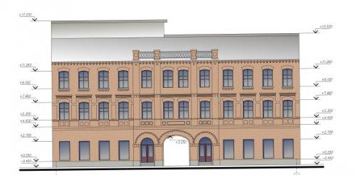Московский пр., дом 55. Проект реконструкции «Красных Бань»