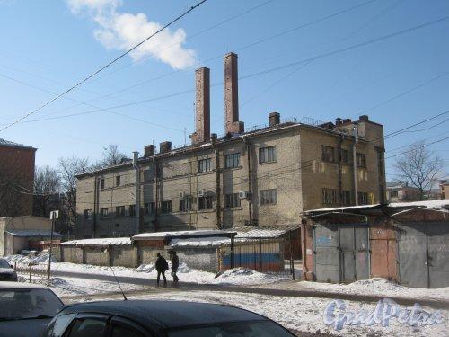 Лесной пр., дом 59, корпус 7. Общий вид с Парголовской ул. Фото 10 марта 2013 г.