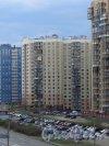 Ленинский пр., дом 74, корп. 1. Фасад со стороны Ленинского проспекта. Фото 9 мая 2013 г.