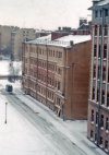 Большой Сампсониевский пр., дом 6. Общий вид жилого дома со стороны двора. Фото апрель 1976 г.