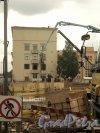 Московский проспект, дом 149, литера Б. Начало строительных работ. Фото 30 мая 2010 г.