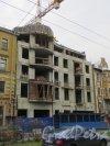 Малый пр. В.О., дом 9. Строительство нового жилого дома «Дом на Малом». Фото 3 ноября 2013 г.