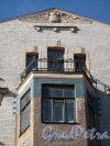Малый пр., П.С., д. 26-28. Доходный дом М. Д. Корнилова. Фрамент фасада. Фото апрель 2012 г.