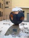 Невский пр., д. 14. Здание школы № 210. Двор. Фото декабрь 2012 г.