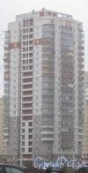 Ленинский пр., дом 80, корпус 1. Общий вид с пр. Кузнецова. Фото 29 декабря 2013 г.