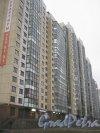 Ленинский пр., дом 78, корпус 1, литера А. Вид с Ленинского пр. на фасад здания. Фото 29 декабря 2013 г.