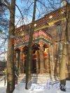 Приморский пр., д. 91. Буддийский храм. Общий вид фасада. Фото январь 2013 г.