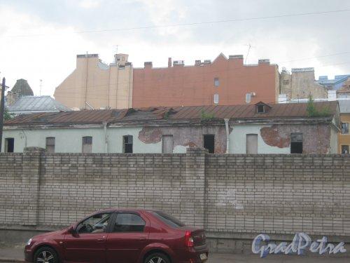 Измайловский пр., дом 17. Здание на территории. Фото 30 мая 2013 г.