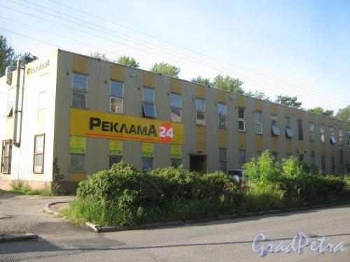 Волковский пр., дом 146, корпус 3. Общий вид с Козловского пер. Фото август 2013 г.