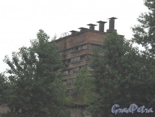 Лиговский пр., дом 271. Один из заброшенных корпусов. Фото июль 2013 г.