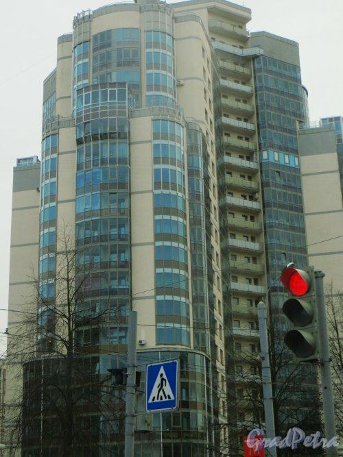 Гражданский пр., дом 113, корп. 3. Общий вид жилого дома. Фото 30 ноября 2013 г.