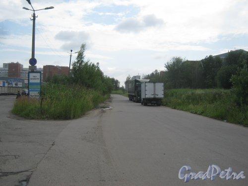 Союзный пр. Вид в сторону ул. Ворошилова. Фото 23 июля 2013 г.