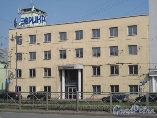Московский пр., дом 118. Офисное здание. Бизнес-центр «Эврика». Фото 2013 г.
