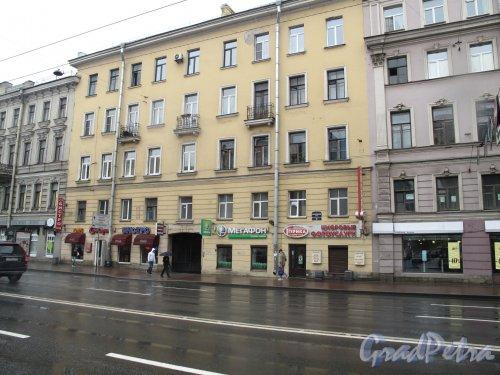 Московский пр., д. 38 Жилой дом 1950-е. Фото май 2013 г.