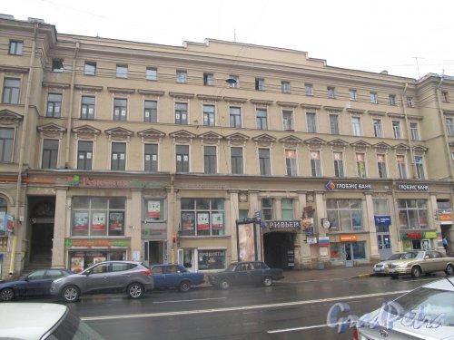 Московский пр., д. 7 Жилое здание с торговыми помещениями. 1886. Фото май 2013 г.