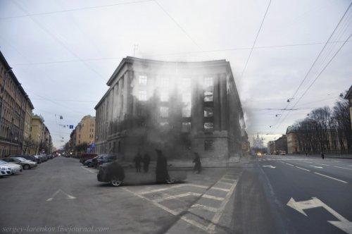 Суворовский пр., дом 50-52. Пожар в госпитале 19 сентября 1941 года.