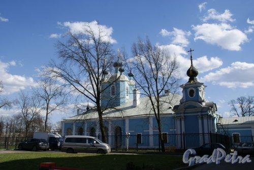 Бол. Сампсониевский пр., д. 41. Сампсониевский собор. Боковой фасад. Фото 2013 г.