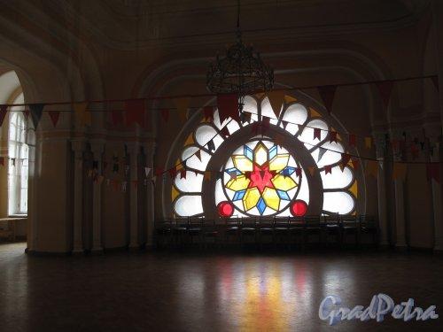 Лермонтовский пр., д. 2. Большая хоральная синагога. Витраж. Фото апрель 2013 г