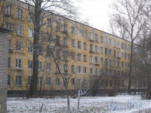 Ленинский пр., дом 125, корпус 3. Общий вид здания со стороны фасада. Фото 12 января 2014 г.