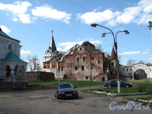 Академический пр. (Пушкин), д. 14-18 Фёдоровский городок. Фото сентябрь 2007 г.