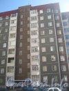 Пулковское шоссе, дом 30 корпус 2. Общий вид со стороны дома 26 корпус 3. Фото апрель 2012 г.