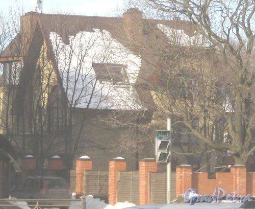 Выборгское шоссе,  дом 50. Общий вид здания. Фото 16 марта 2013 г.
