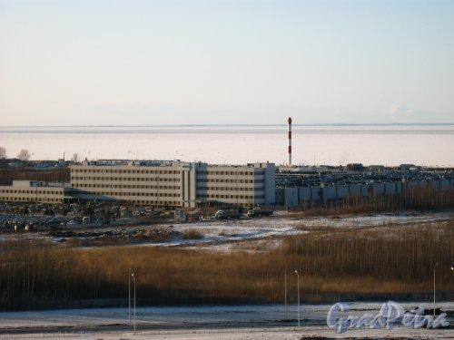 Петергофское шоссе, дом 71, литера АС, комплекс построек ООО «ПЕТРО». Фото 28 марта 2013 г.