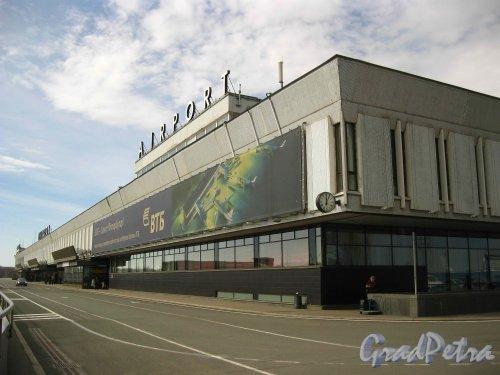 Пулковское шоссе, дом 41. Старое здание аэропорта Пулково-1. Второй этаж. Фото 16 апреля 2013 г.