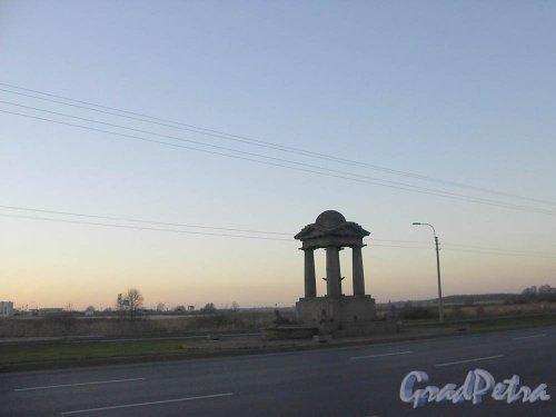 Пулковское шоссе, 53 Фонтан с 4 сфинксами, арх.ж.-Ф Тома де Томон, 1809. Общий вид