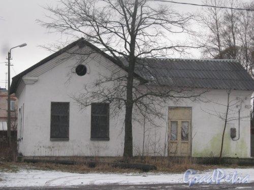 Красное Село (Горелово), Красносельское шоссе, дом 26, корпус 3, литера А. Общий вид здания. Фото 4 января 2014 г.