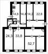 6 комн. квартира продажа(вторичное),Санкт-Петербург, Центральный, Кирочная ул. д.12