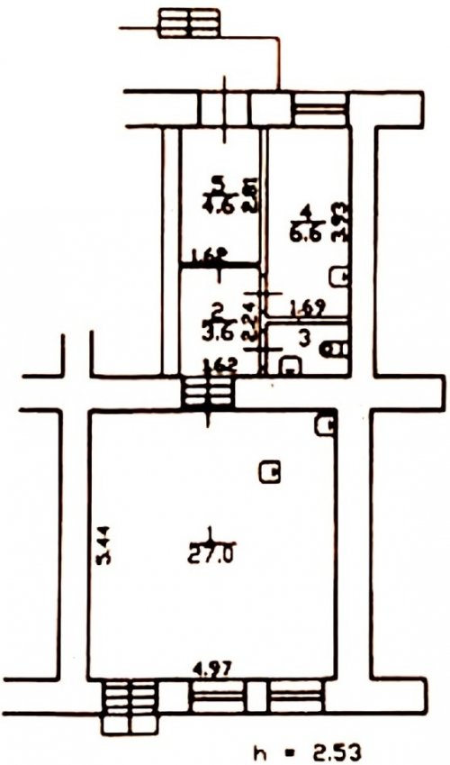 Санкт-Петербург,Боровая ул. - Встроенное помещение продажа (вторичное)