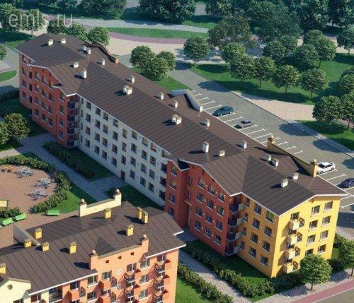 Ленинградская область,Итальянский квартал, ЖК - 2 комн. квартира продажа (первичное)