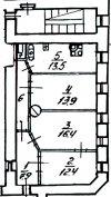 3 комн. квартира продажа(вторичное),Санкт-Петербург, Петроградский, Кронверкская ул. д.12