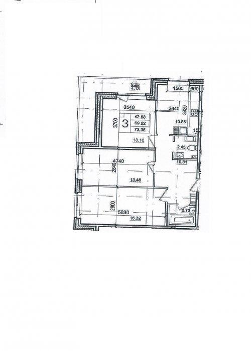 Ленинградская область,Христиновский пр. (Всеволожск) - 3 комн. квартира продажа (первичное)